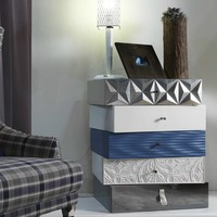 Sectional modular chest of drawers SMART by Bizzotto