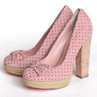 Betsey Johnson Maggi dot pump platform heels - $99.99 : ShopRuche.com, Vintage Inspired Clothing, Affordable Clothes, Eco friendly Fashion