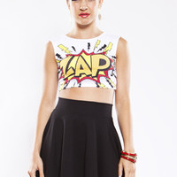 Zap Into Action Crop Top