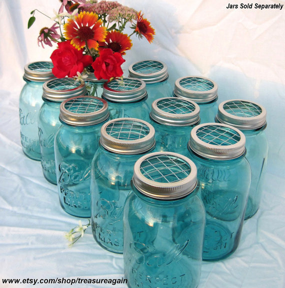 DIY Wedding Flowers Mason Jars From Treasureagain Mason Jars