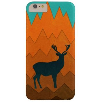 Deer silhouette autumn fall iPhone 6 plus case