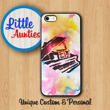 VINTAGE PIANO PAINTING iPhone6 Case iPhone 6+ iPhone 5S Watercolor Drawing Colorful iPhone 5C iPhone 4S Samsung Galaxy S5 S4 S3 Abstract Art