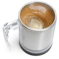 ThinkGeek :: Self Stirring Mug
