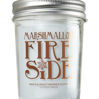 Mason Jar Candle Marshmallow Fireside