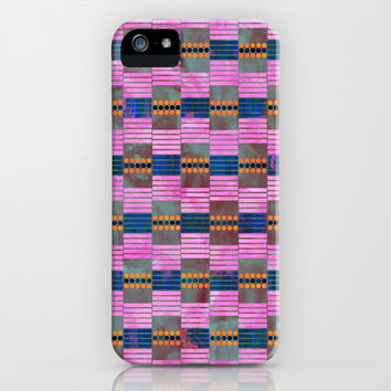 Biarritz Dots iPhone & iPod Case by Schatzi Brown