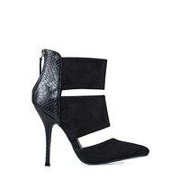 Cut Out Stiletto Boot