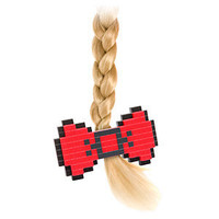 ThinkGeek :: 8-Bit Hair Bow