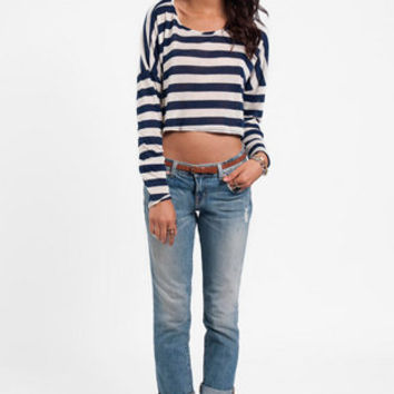 Sail Away Striped Top