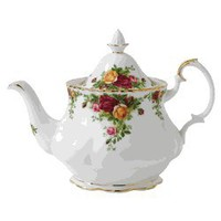 Royal Albert China Teapot- Old Country Roses