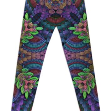 Color Garden Leggings created by Lyle58 | Print All Over Me