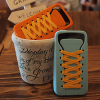 welcome connect design - ! iphone case shoe lace design quirky fun