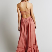 Free People Womens Extratropical Dress - Wood Rose