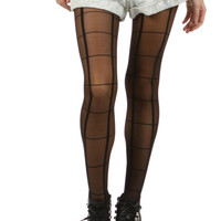 Up Down & Across Tights
