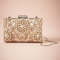 Golden Pearl Clutch