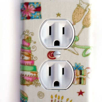Cakes Pastries & Celebration Outlet Plate Switchplate Switch Plate