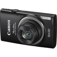 Canon - PowerShot ELPH-340 16.0-Megapixel Digital Camera - Black