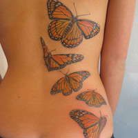 Charming and Beautiful Butterflies Tattoos | Tattoo5.com