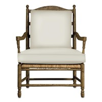 Currey And Company Avignon Chair - Currey-co-7006 | Candelabra, Inc.