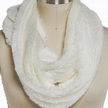 TWO SIDE FUR ETERNITY SCARF