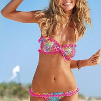 Floral Ruffle Bandeau Top - Beach Sexy?- - Victoria's Secret