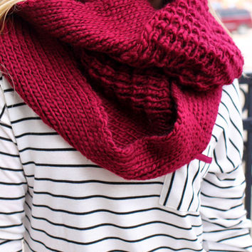 The Warmest Infinity Scarf
