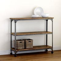 Aiden 3-Shelf Console | Living Room Furniture| Furniture | World Market