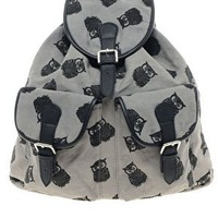 ASOS Owl Print Backpack at asos.com