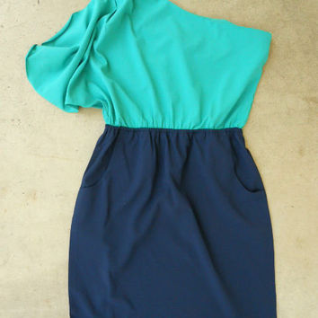 Billowing Jade Party Dress [2797] - $36.00 : Vintage Inspired Clothing & Affordable Summer Dresses, deloom | Modern. Vintage. Crafted.