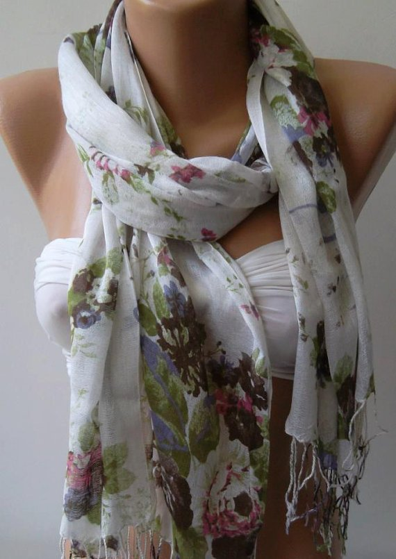 Shawl for Summer  / Elegance Shawl / Scarf - soft and light-