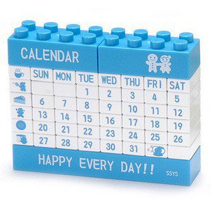 INFMETRY:: DIY Lego Puzzle Calendar - Office Supplies - Home&Decor