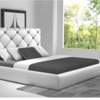 White 6200 Storage Bed by ESF Furniture - Opulentitems.com