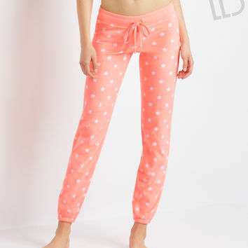 Aeropostale LLD Star Cinch Fleece Pants - Multi 928,