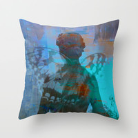 You give me Wings - JUSTART © Throw Pillow by JUSTART  * Syl *