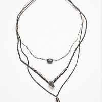 Free People Luxe Triple Necklace