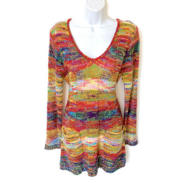 """""""My Crayons Melted"""" Soft Ugly Sweater Dress – New!"""