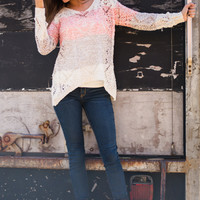 Sassy Sequin Sweater, Pink