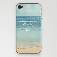 dream big iPhone & iPod Skin by Sylvia Cook Photography | Society6