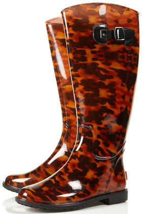 DINO Tortoiseshell Wellies - New In This Week  - New In