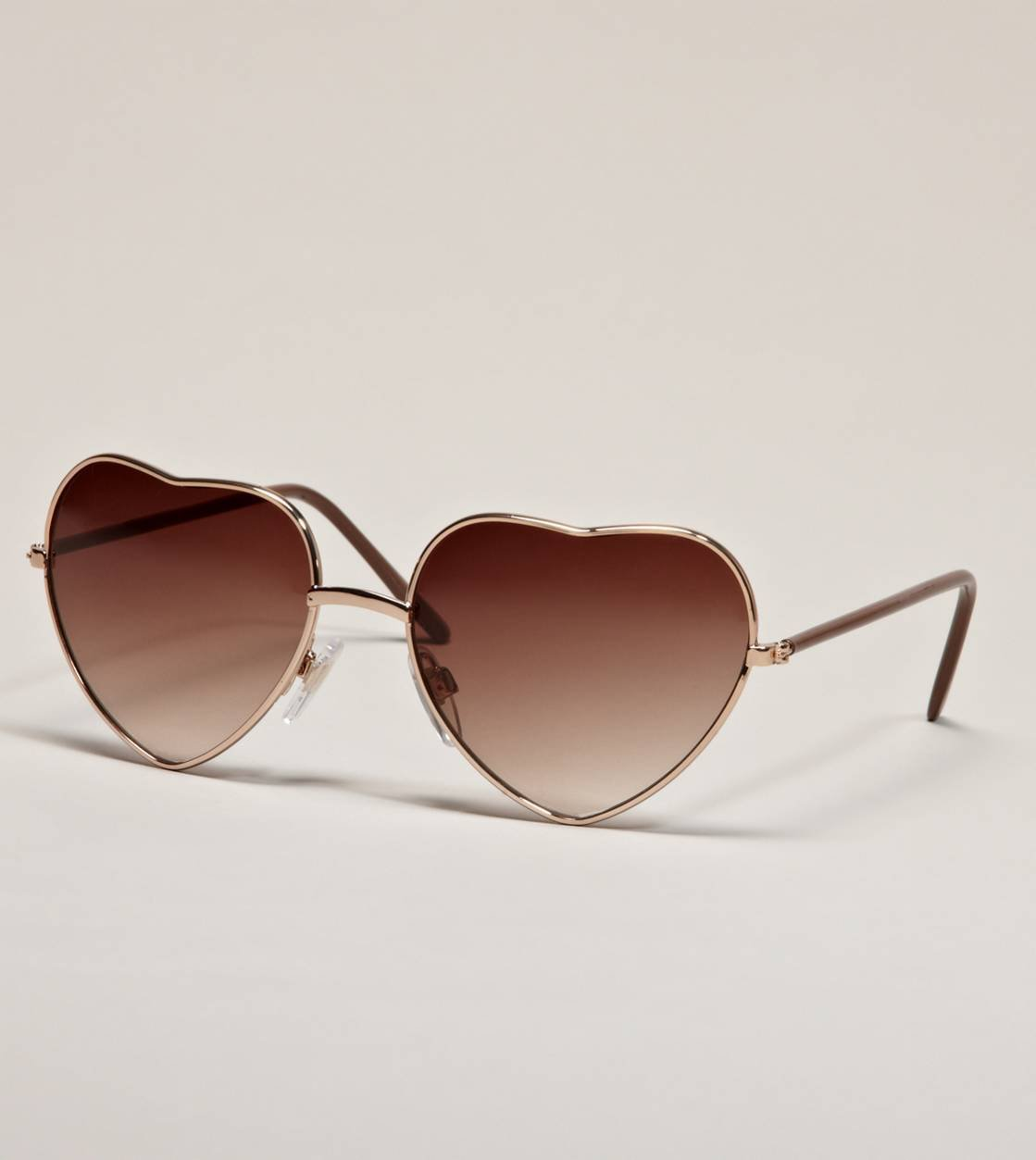 AE Heart Aviator Sunglasses | American Eagle Outfitters