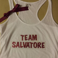 The Vampire Diaries Inspired Team Salvatore Racerback Tank
