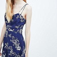 Kimchi Blue Floral Day Dress in Blue - Urban Outfitters