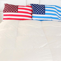 American Flag Pillowcase - Set Of 2