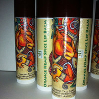 Organic Orange Hemp Spice Lipbalm