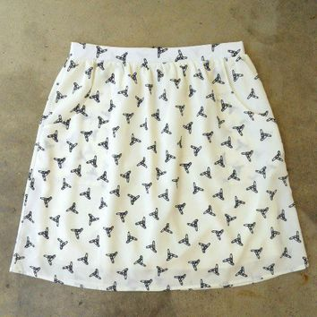 Feminine Punk Safety Pin Skirt [2260] - $27.00 : Vintage Inspired Clothing & Affordable Summer Dresses, deloom | Modern. Vintage. Crafted.