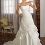 Satin Taffeta with Jeweled Embroidery Strapless Floor Length A Line Gown Style 4806 $138.61 only in eFexcity.com.