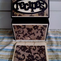 Recipe Box - Black Lace on Luulla