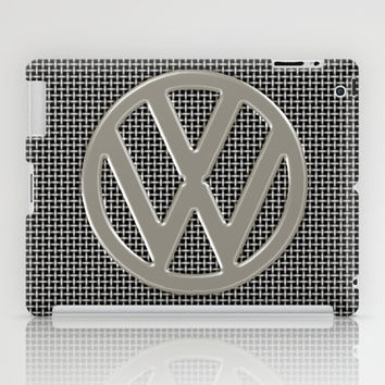 VW Silver Grill iPad Case by Alice Gosling