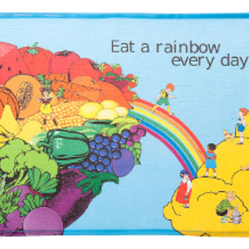 RAINBOW PORTION PLATE FOR KIDS