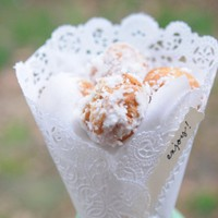 Ruffled?- | Homemade Donut Holes Wedding Favors