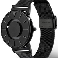 The Bradley Black Mesh Watch - Available at Watchismo.com